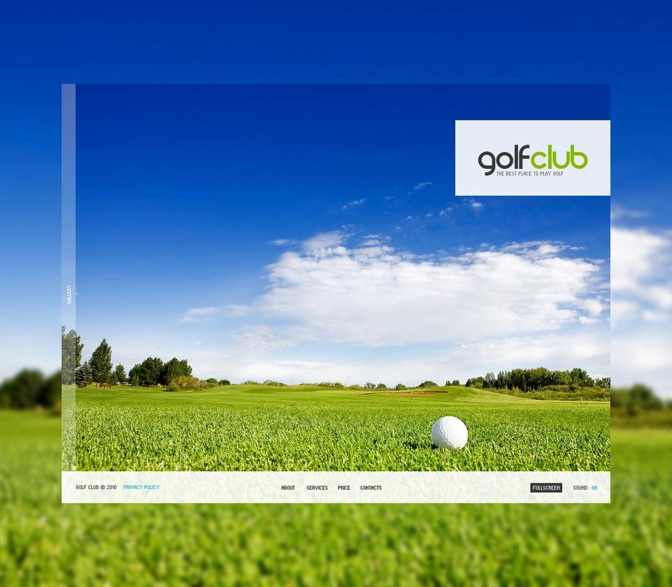 golf flash template web design templates website templates download golf flash template 29748. Black Bedroom Furniture Sets. Home Design Ideas