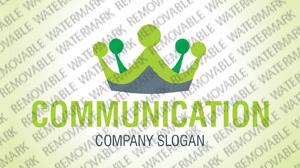 Communications Logo Template vlogo