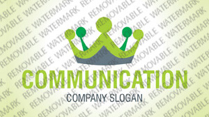 Communications Logo Template vlogo