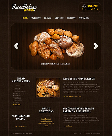 Website Template #29876