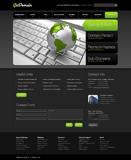 Website Template #29877