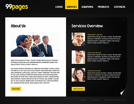 Website Template #30003