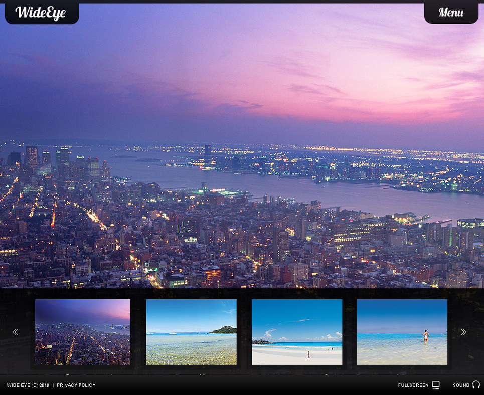 Dynamic Flash CMS Gallery with an Accordion Style Menu - image