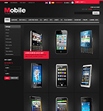 Black Mobiles Store - PrestaShop Theme #30054 by Mercury