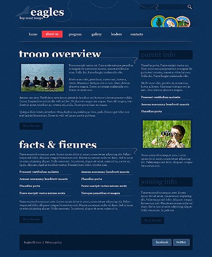 Website Template #30124