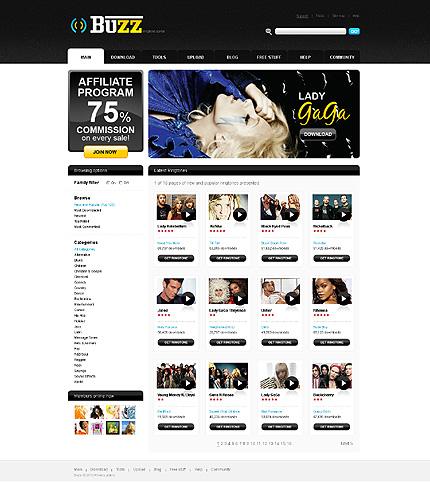 Заказ создания сайта или интернет магазина на тему СМИ, на основании шаблона №30128.