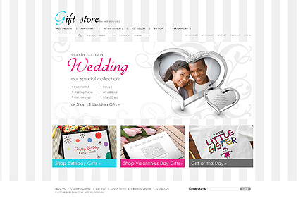 Gift store – Best Gift Shop Magento Theme For Wedding