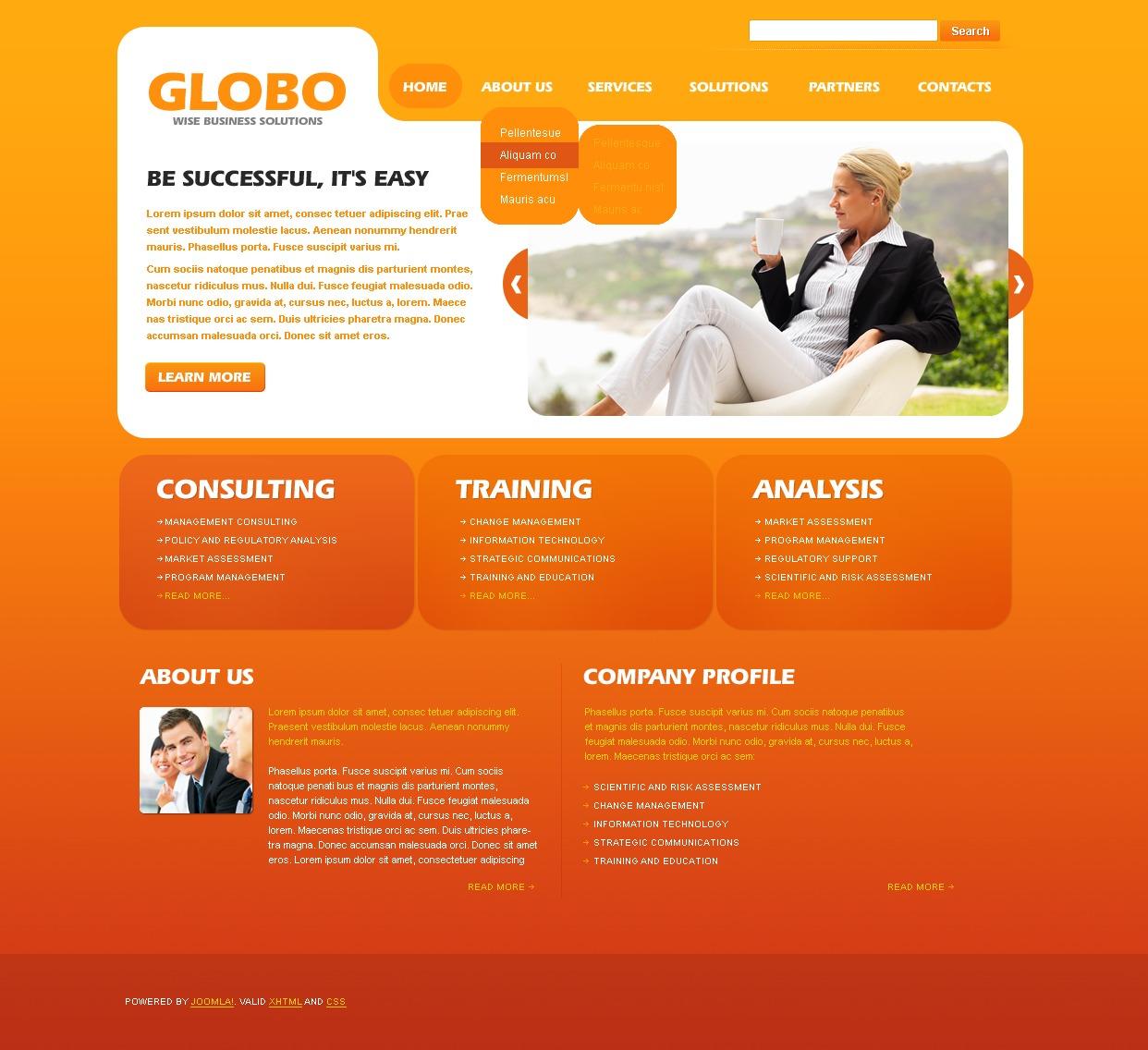 Business Directory Joomla Template