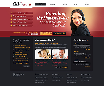 Website Template #30241