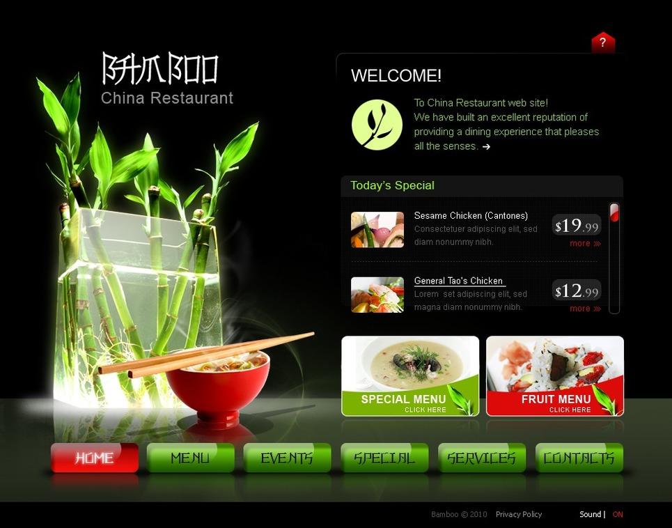 chinese restaurant swish template 30244