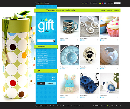 Prestashop Gifts Theme