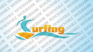 Surfing Logo Template vlogo