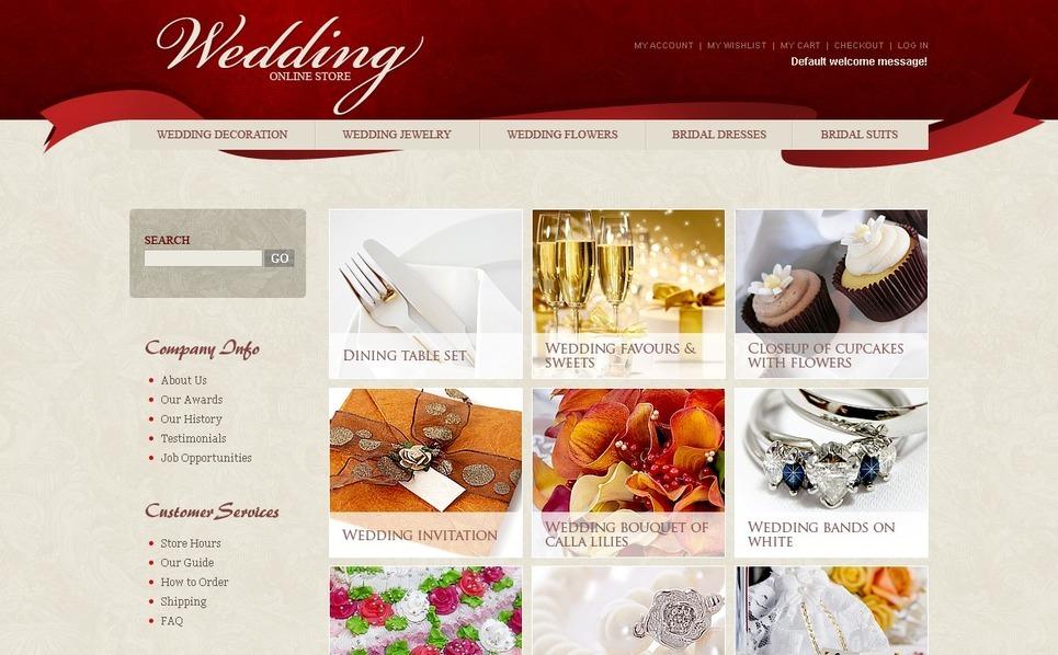 Wedding Shop Magento Theme New Screenshots BIG
