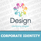 Corporate identity template #30338 by Logann