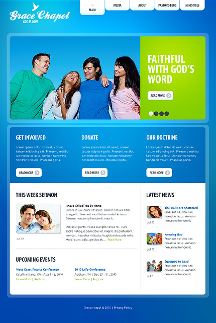 Website Template #30522