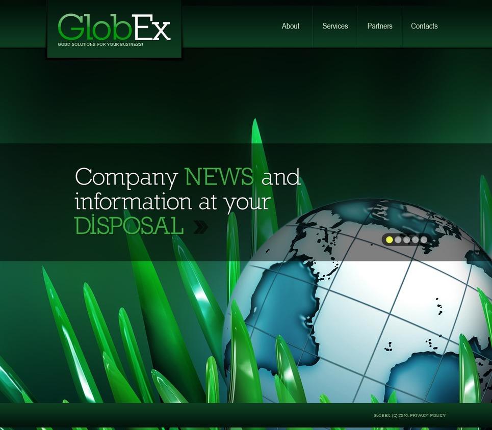 Business Joomla Template New Screenshots BIG