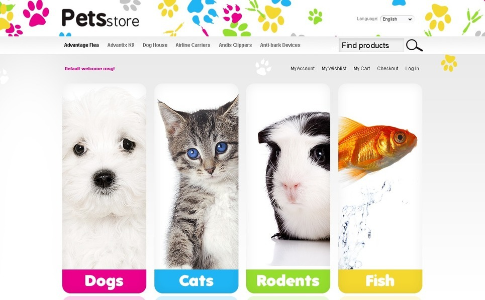 Pet Shop Magento Theme New Screenshots BIG