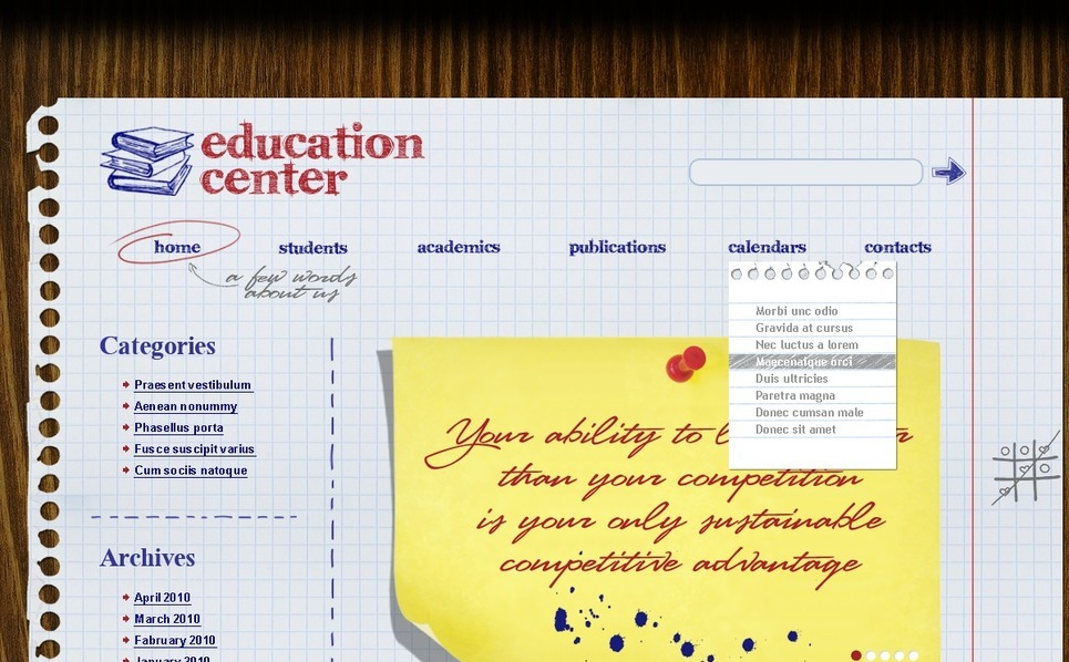 Education WordPress Theme New Screenshots BIG