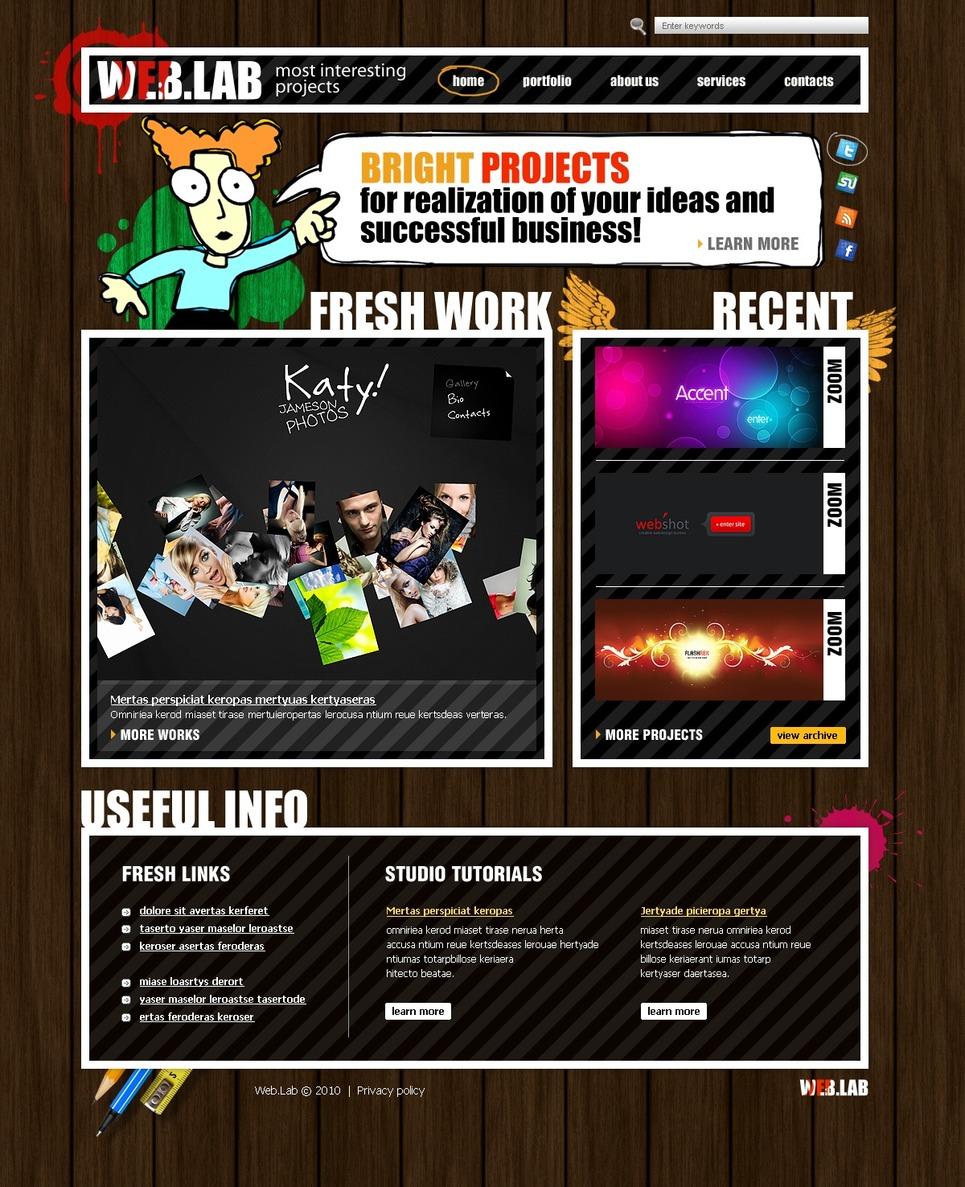 Web Design Website Template New Screenshots BIG