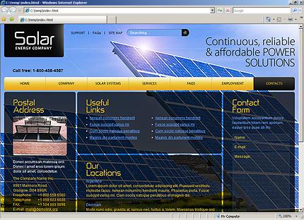 Website Template #30744
