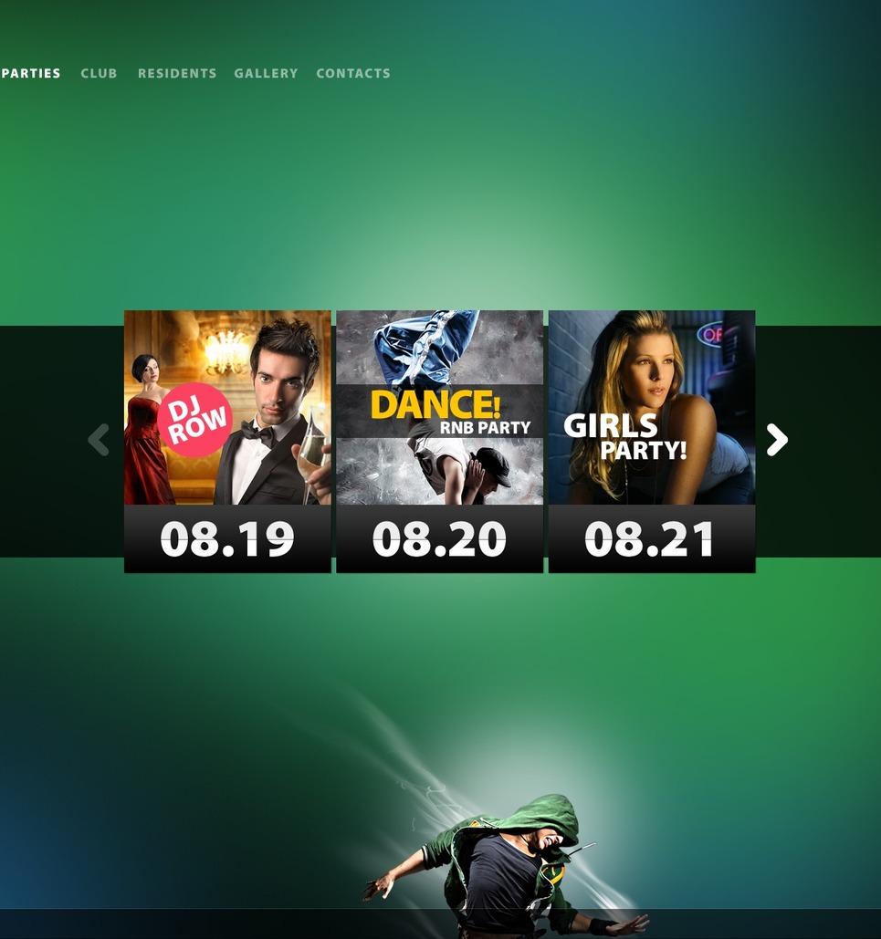 Night Club Joomla Template New Screenshots BIG
