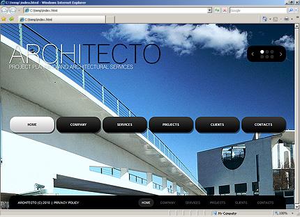 Website Template #30819