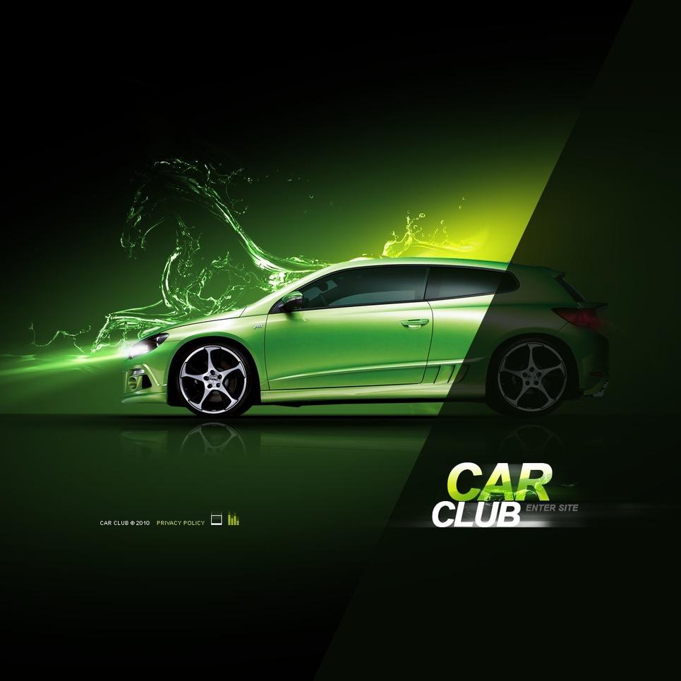 Car Club Flash Template New Screenshots BIG