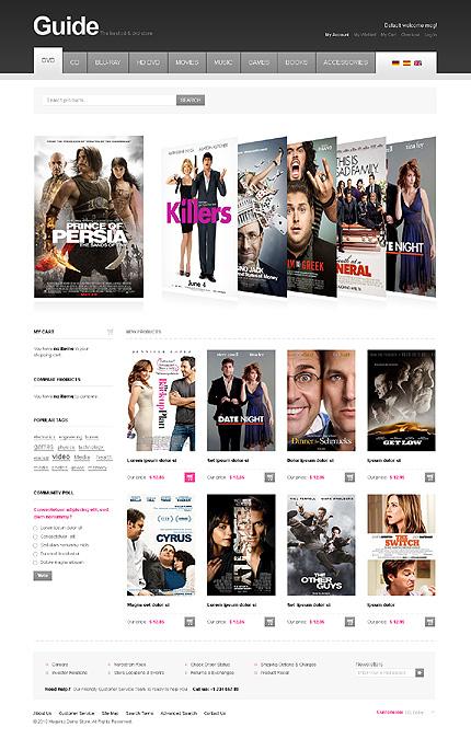 entertainment and online tickets magento themes platina studio blog
