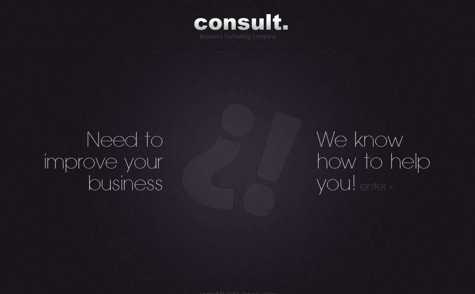 Consulting Flash Template New Screenshots BIG