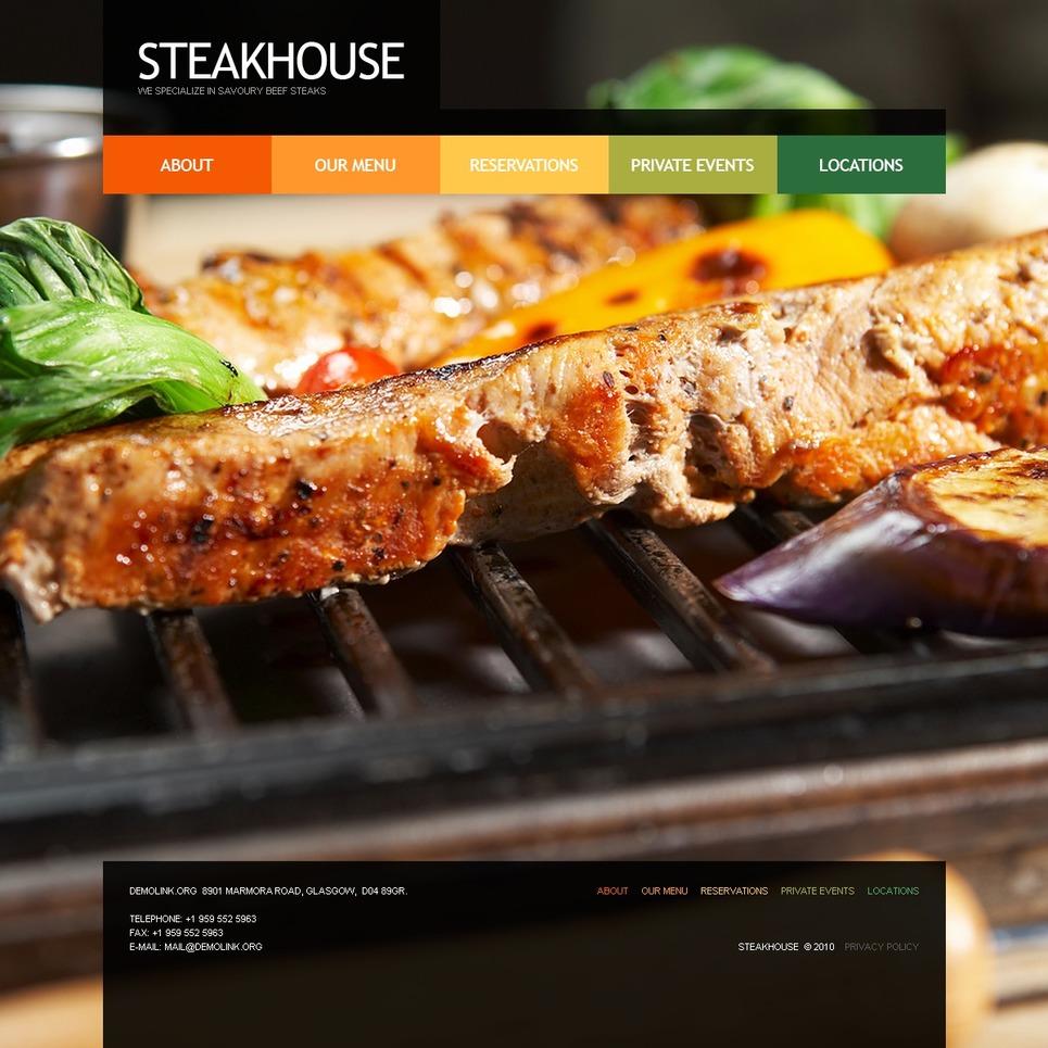 Steakhouse Website Template New Screenshots BIG