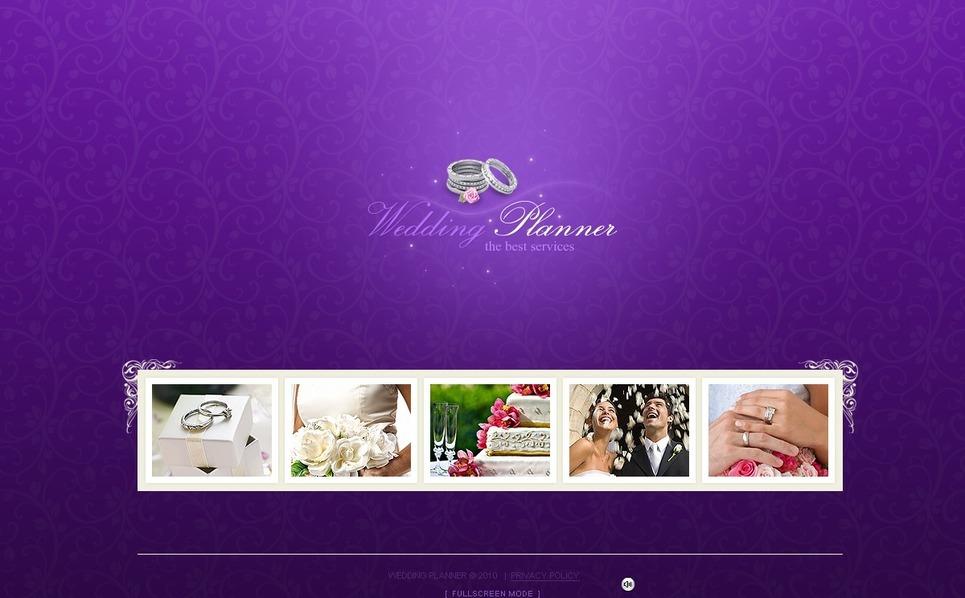 Wedding Planner Flash Template New Screenshots BIG