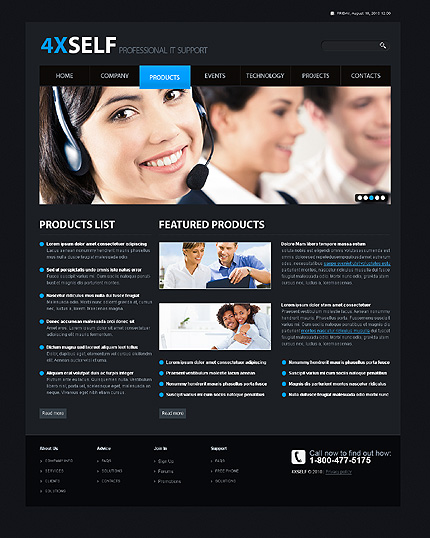 Website Template #31094