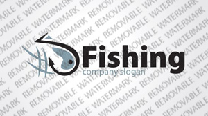 Fishing Logo Template vlogo