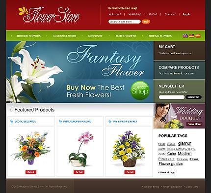 Flower store – Fantastic Florist Store Magento Theme