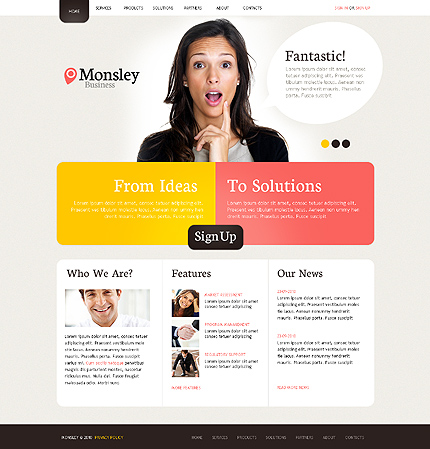 Website Template #31266