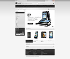 Metallic mobile store - PrestaShop Theme #31382 by Mercury