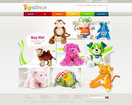 Toys store - Rejuvenating Toy Store Magento Theme