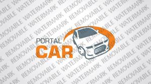 Car Dealer Logo Template vlogo