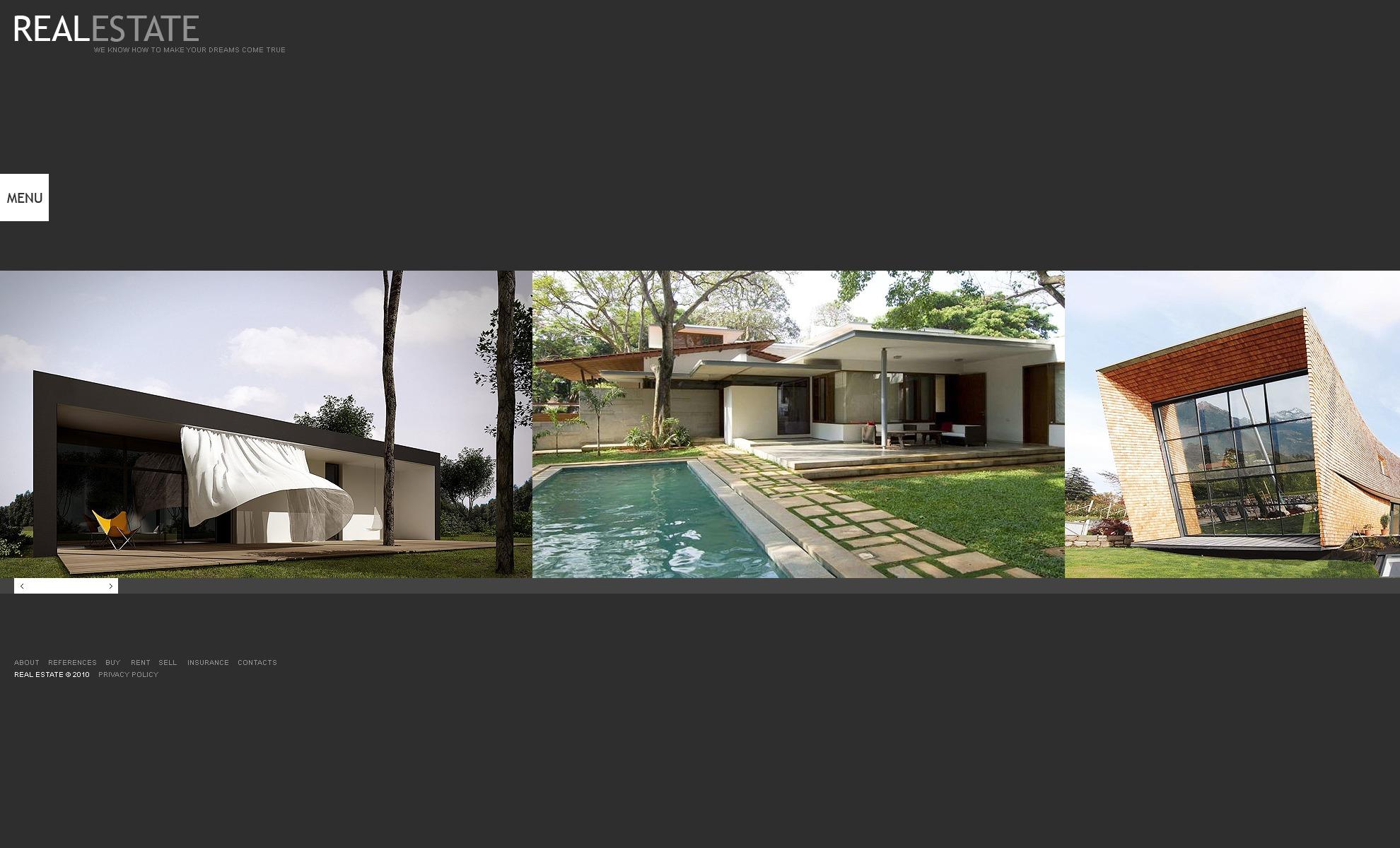 Plantilla web 31559 para sitio de agencia inmobiliaria for Agencia inmobiliaria