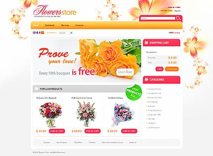 Summer Delights Flowers store - Astonishing Flower Store PrestaShop Theme
