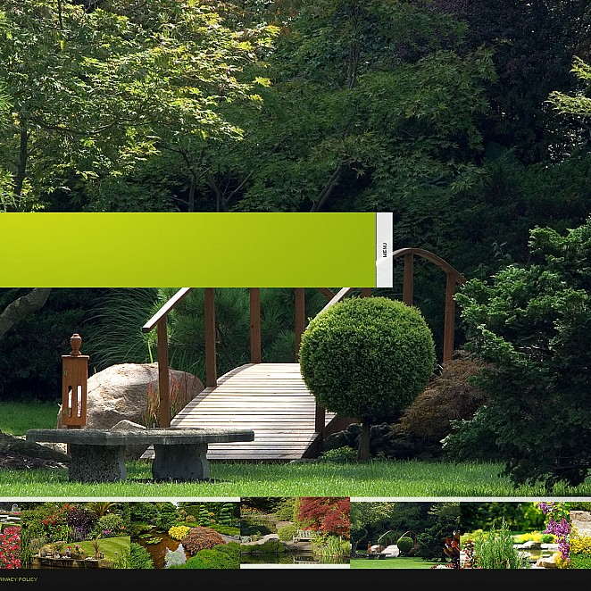 Exterior Design Flash CMS Template - image