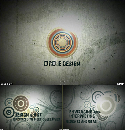 Design Studio Silverlight Intro Template Silverlight screenshot