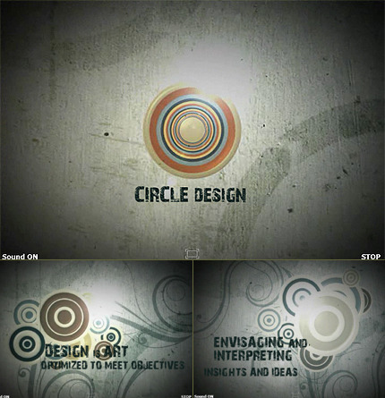 Design Studio Silverlight Intro Template Silverlight screenshot