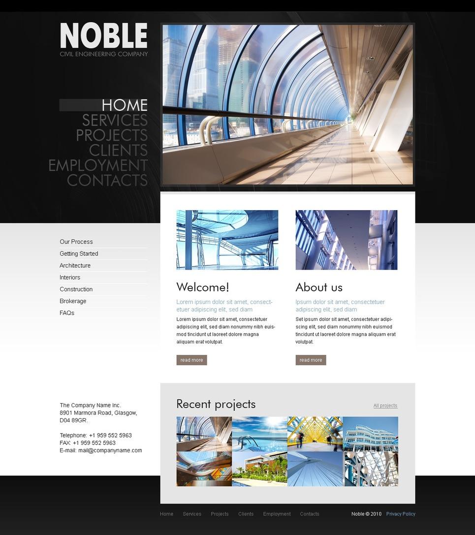 Business Silverlight Template New Screenshots BIG
