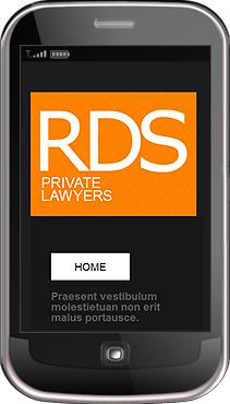 Заказ создания сайта или интернет магазина на тему Юридические, Мобильные шаблоны, на основании шаблона №31971.