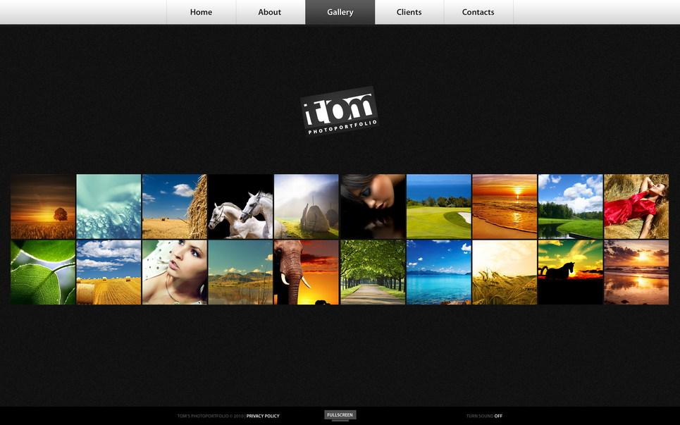 Memorable Flash CMS Portfolio - image