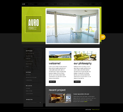 Website Template #32078