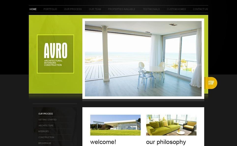 Interior Design SWiSH Template New Screenshots BIG