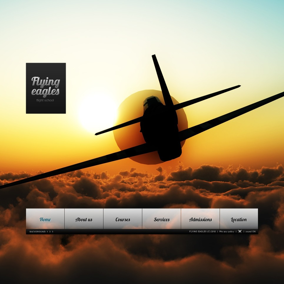 Flight School Flash Template New Screenshots BIG