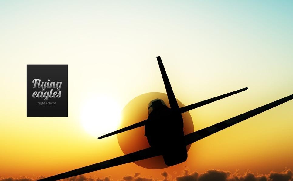 Flight School Flash Template New Screenshots BIG